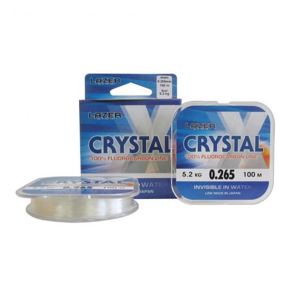 Флуорокарбоново влакно Lazer CRYSTAL - 100м