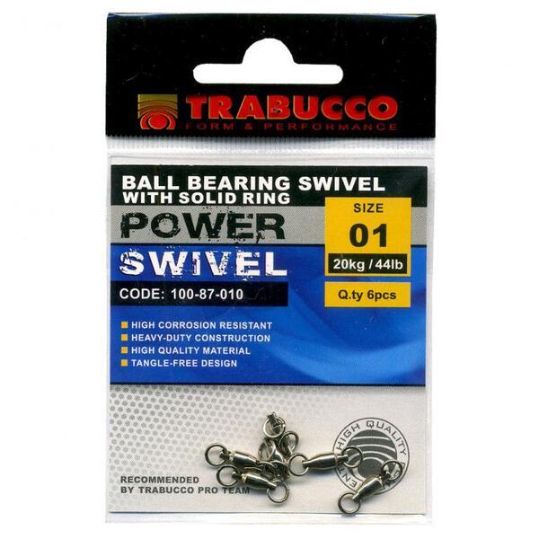Вирбел Trabucco BB SOLID RINGS SWIVEL
