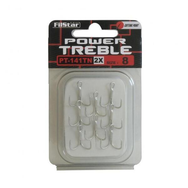 Тройни куки Filstar POWER TREBLE 141TN - 2X