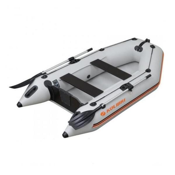 Надуваема моторна лодка Kolibri KM-260 AIR DECK