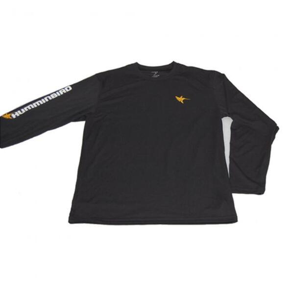 Блуза Humminbird LONG SLEEVE PERFORMANCE - BLACK