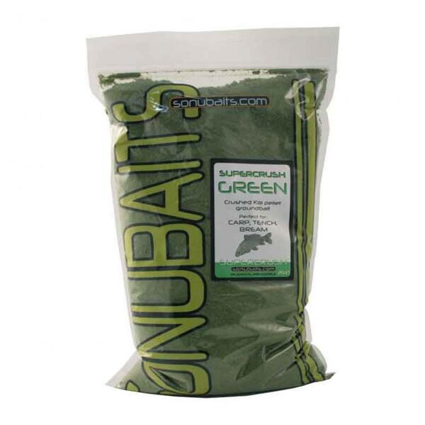 Захранка Sonubaits SUPERCRUSH GREEN 2кг