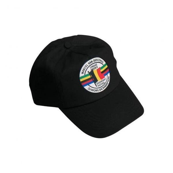 Бейзболна шапка Marcel Van Den Eynde - черна