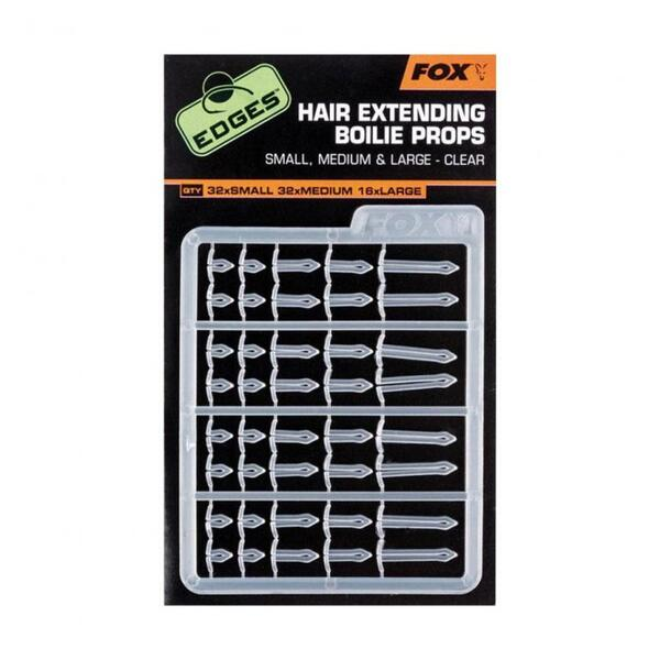 Стопери Fox EDGES HAIR EXTENDING BOILIE PROPS CLEAR
