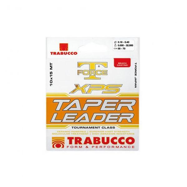 Конусен повод Trabucco T-FORCE XPS 10 бр. х 15м