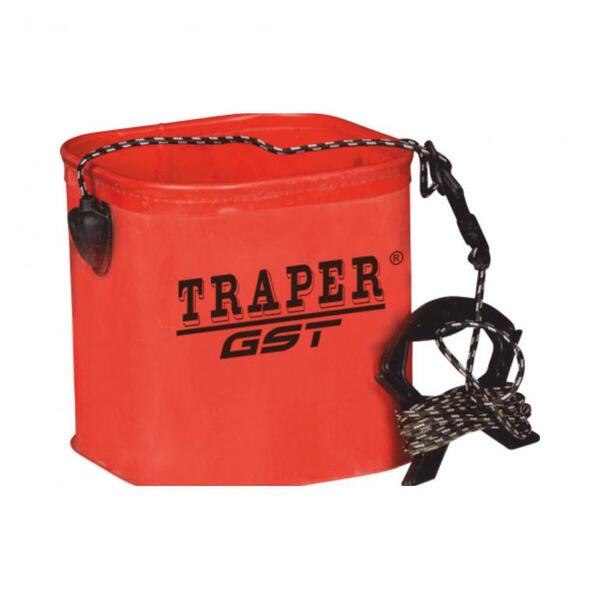 Сгъваема кофа за вода Traper GST PVC 5л