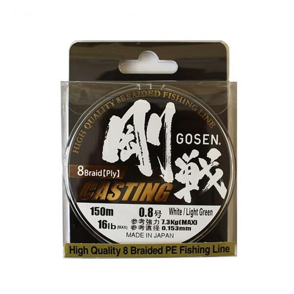 Плетено влакно Gosen W8 Casting
