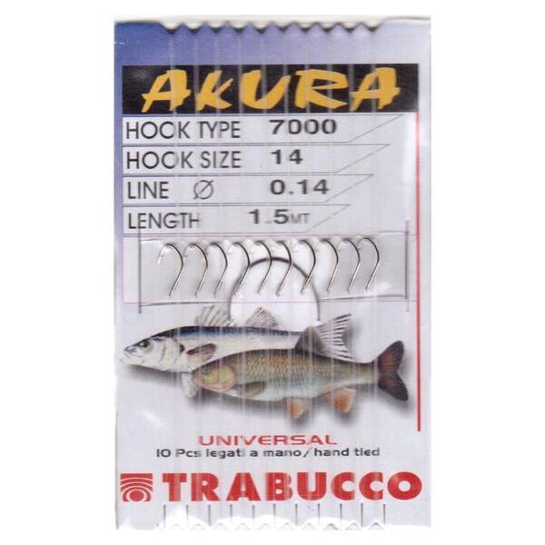 Вързани куки Trabucco AKURA 7000 UNIVERSAL