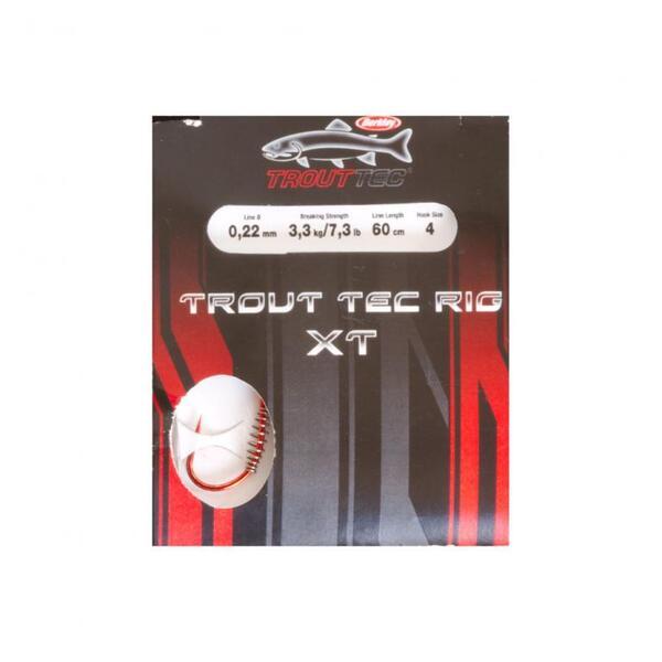Вързани куки Berkley Trout Tec Rigs XT