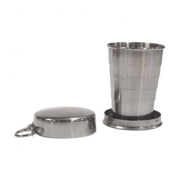 Сгъваема метална чаша UST - 250мл
