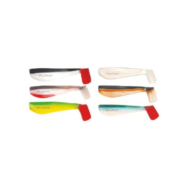 Силиконова рибка Traper RIPPER BLADE FISH - 10см