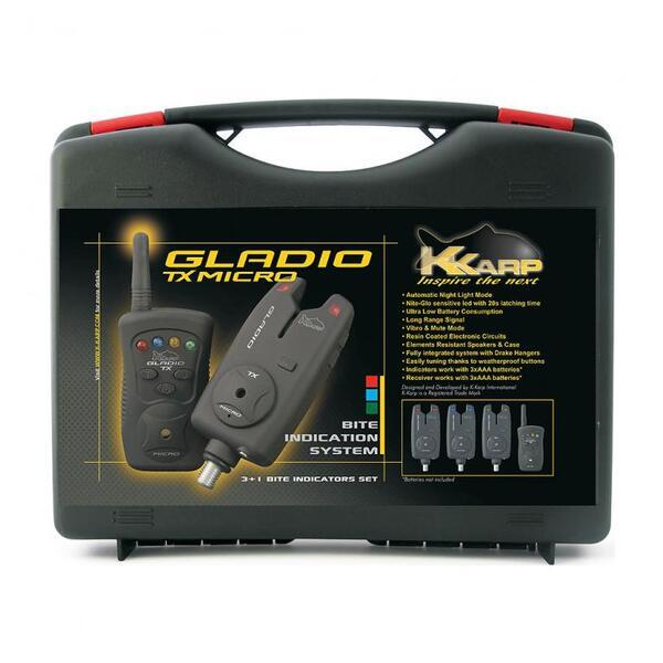 Комплект сигнализатори K-Karp GLADIO TX MICRO 3+1