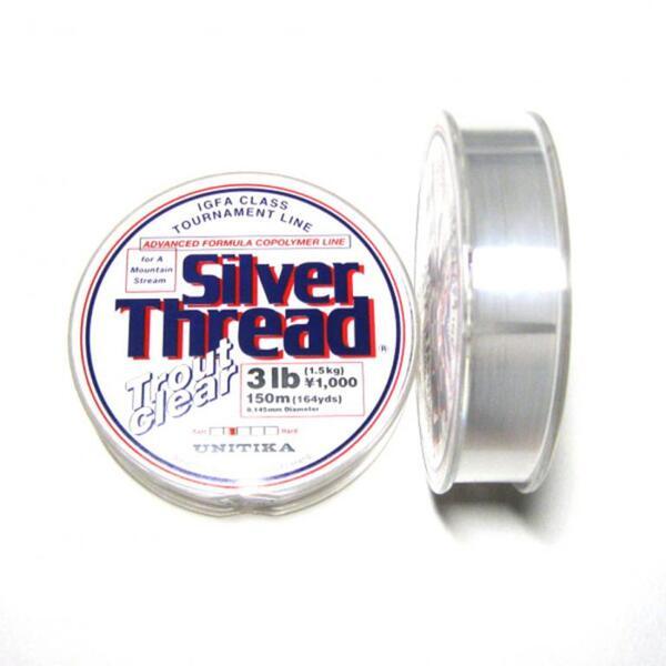 Монофилно влакно Unitika Silver Thread Trout Clear 150м