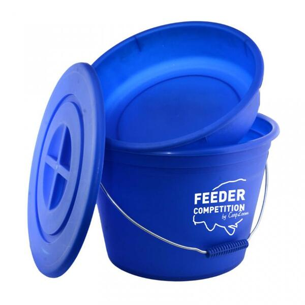 Кофа с леген и капак Carp Zoom 25л FEEDER COMPETITION