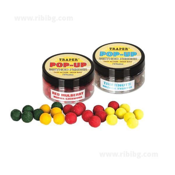 Топчета Traper POP-UP METHOD FEEDER 10мм, 30г