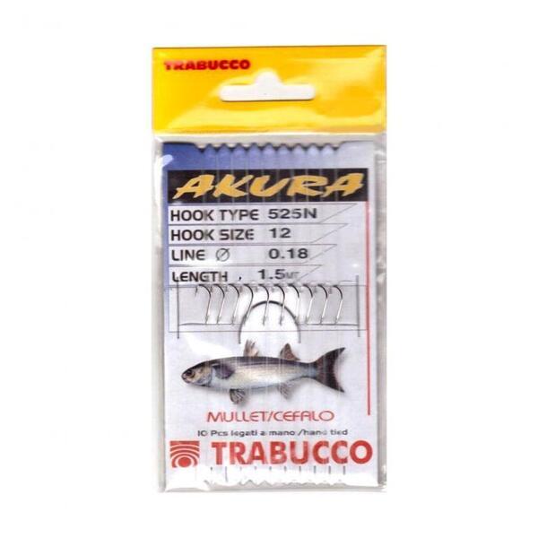 Вързани куки Trabucco AKURA 525N MULLET