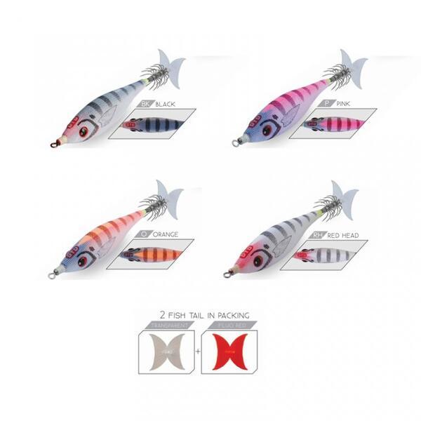 Калмариера DTD PANIC FISH - 8 см