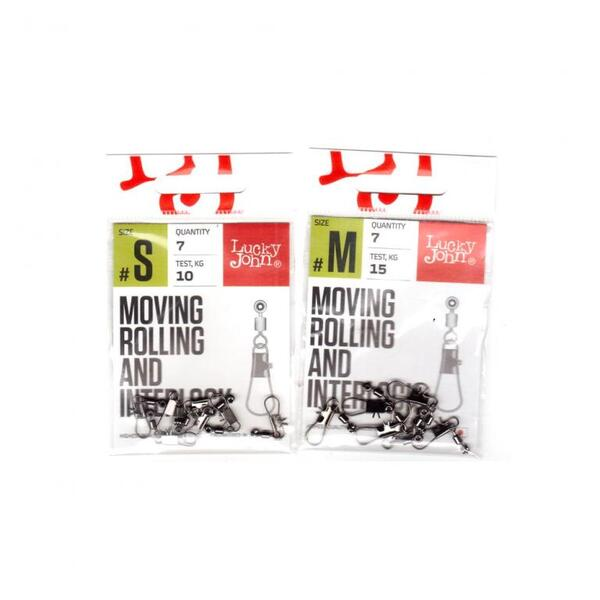Вирбел Lucky John MOVING ROLLING AND INTERLOCK - LJP5104