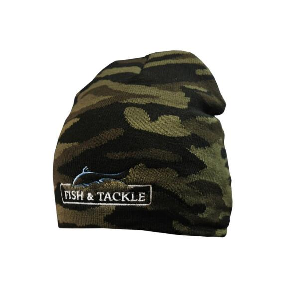 Зимна шапка Fish&Tackle 7134 - Camouflage (olive-brown)