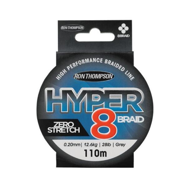 Плетено влакно Ron Thompson HYPER 8-Braid