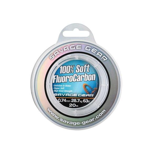 Флуорокарбоново влакно Savage Gear SOFT FLUORO CARBON
