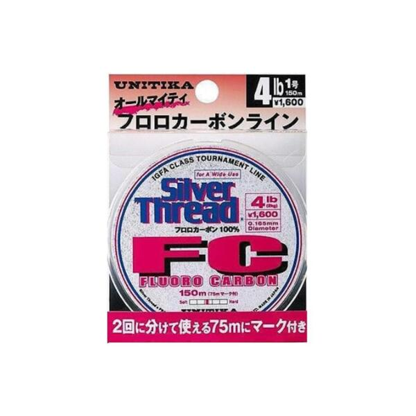 Флуорокарбоново влакно Unitika SILVER THREAD FC - 150м