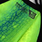 Маска предпазна MAZE X3M 1+3 - Green Chartreuse - за лице, многократна