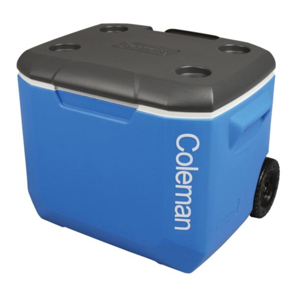 Хладилна чанта Coleman 60QT PERFORMANCE TRI COLOR WHEELED