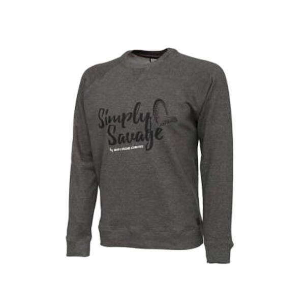 Пуловер Savage Gear SIMPLY SWEATER MELANGE GREY
