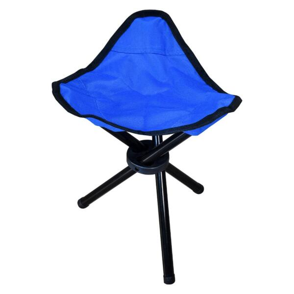 Столче Dream Fish BLUE - сгъваемо трикрако