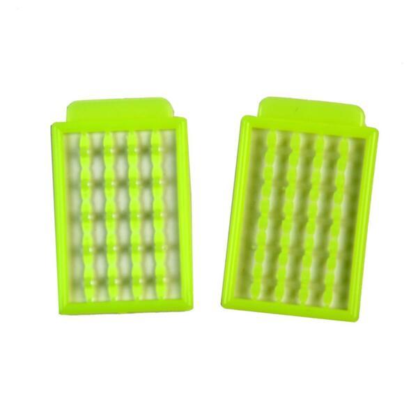 Стопери за косъм Vertis CARP CAGED CLIP-Chartreuse