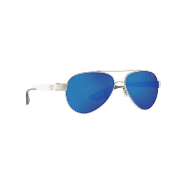 Очила Costa LORETO PALLADIUM WHITE TEMPLES - BLUE MIRROR 580G