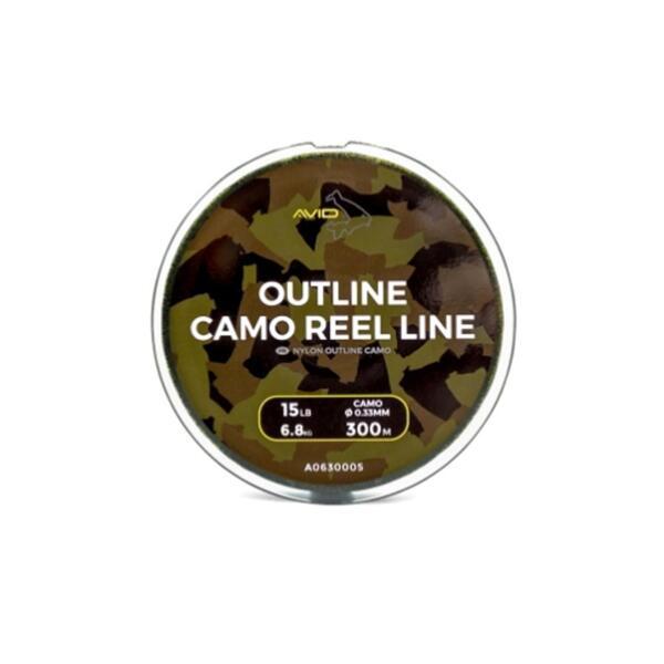 Монофилно влакно Avid Carp OUTLINE CAMO LINE - 300м