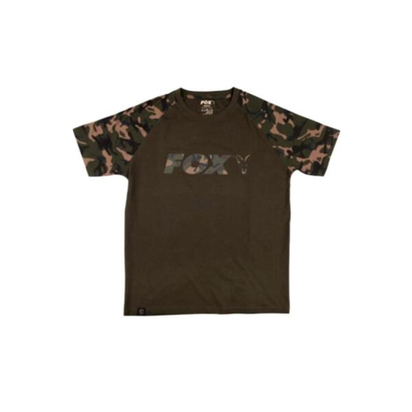Тениска Fox CAMO-KHAKI CHEST PRINT