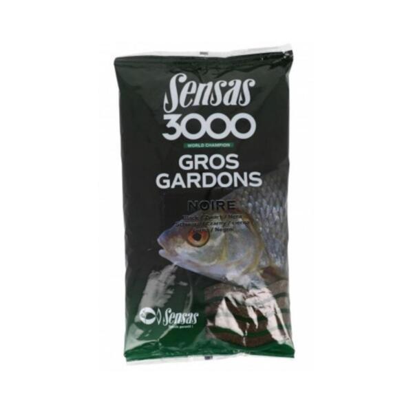 Захранка Sensas 3000 GROS GARDONS BLACK 1кг
