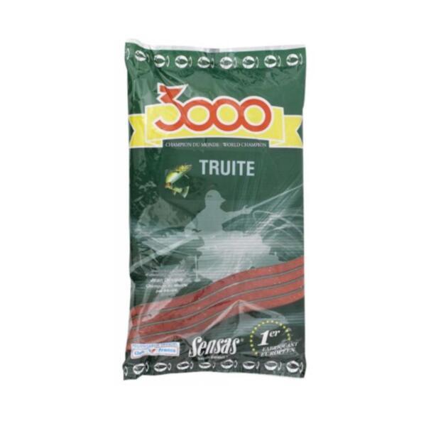 Захранка Sensas 3000 TROUT RED