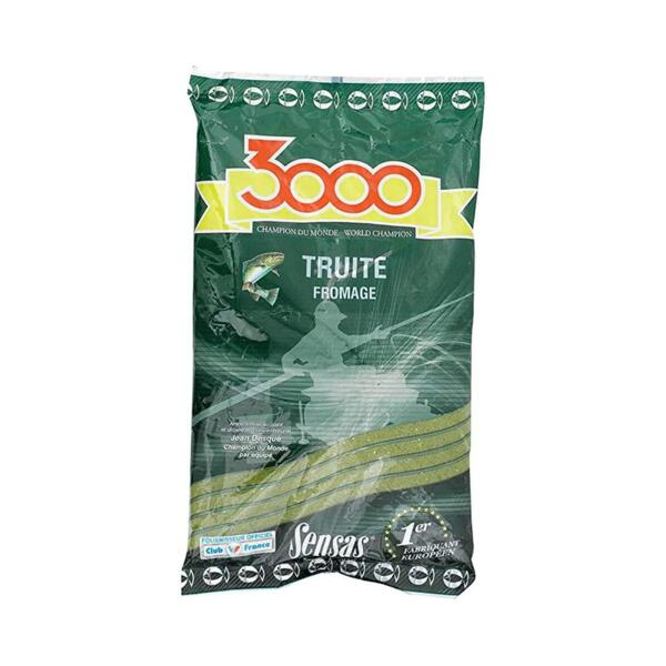Захранка Sensas 3000 TROUT CHEESE