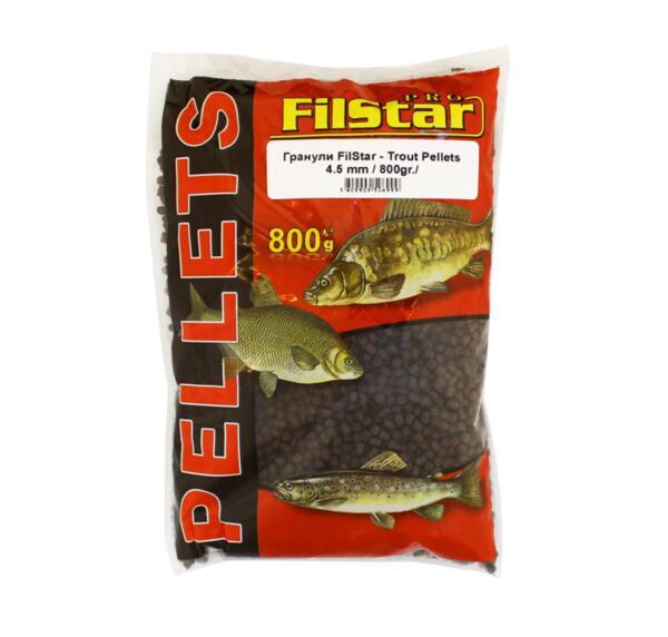 Гранули за пъстърва FilStar TROUT PELLETS