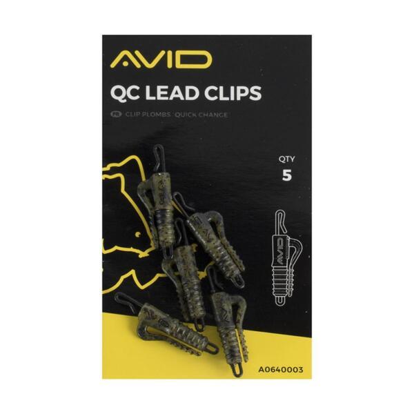 Клипс за олово Avid Carp Outline QC LEAD CLIPS