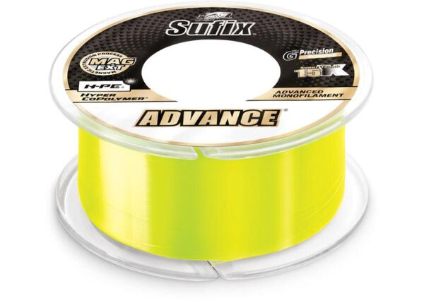 Монофилно влакно Sufix ADVANCE Yellow 300м