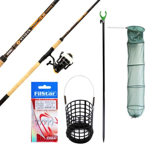 PROMO Комплект за Фидер риболов Mitchell NEURON FEEDER