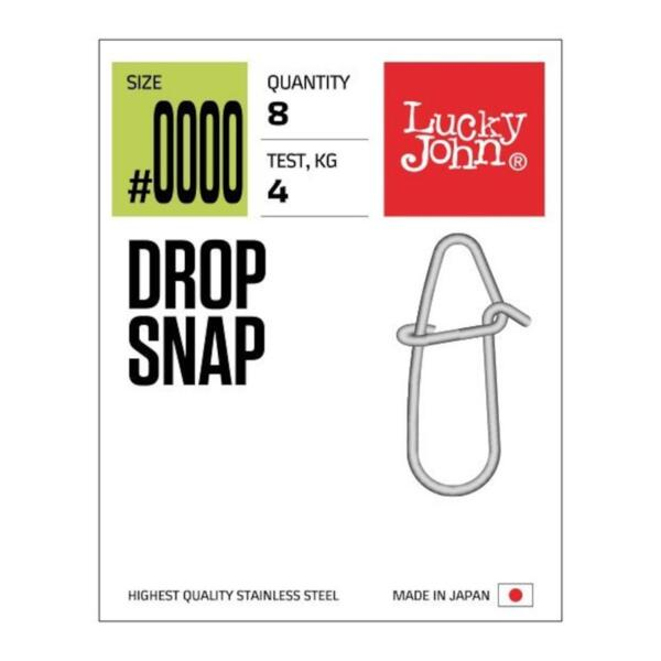 Карабинка Lucky John DROP SNAP