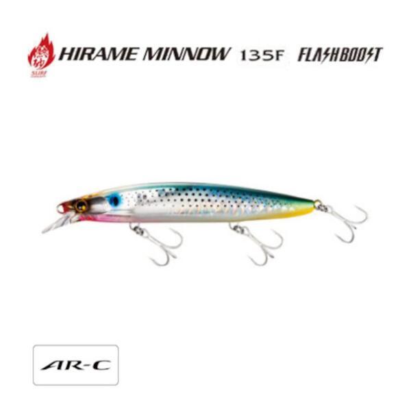 Воблер Shimano HIRAME MINNOW 135F FLASH BOOST