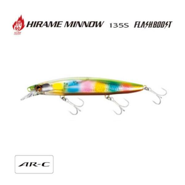 Воблер Shimano HIRAME MINNOW 135S FLASH BOOST