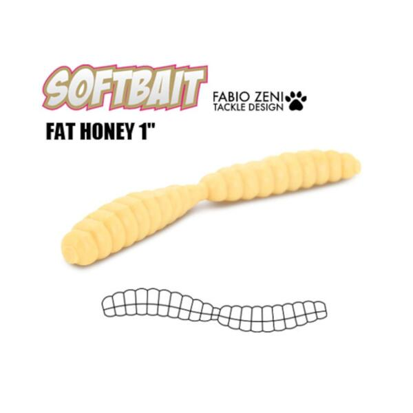 Силиконова примамка Fabio Zeni FAT HONEY 2.5см