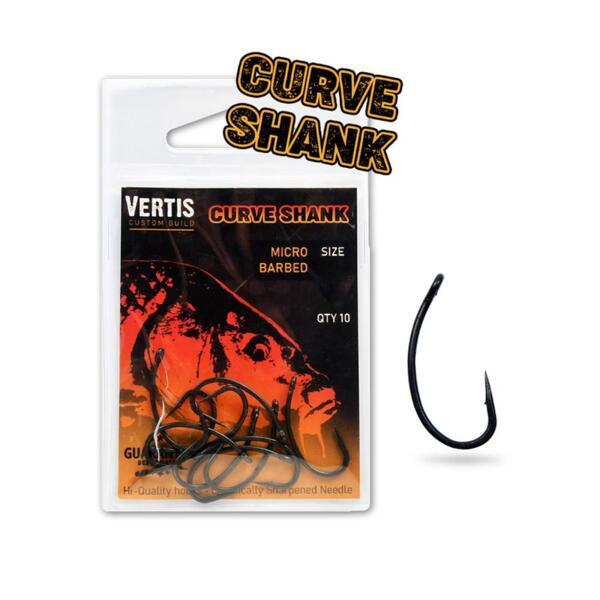 Куки Vertis Carp 9001 CURVE SHANK