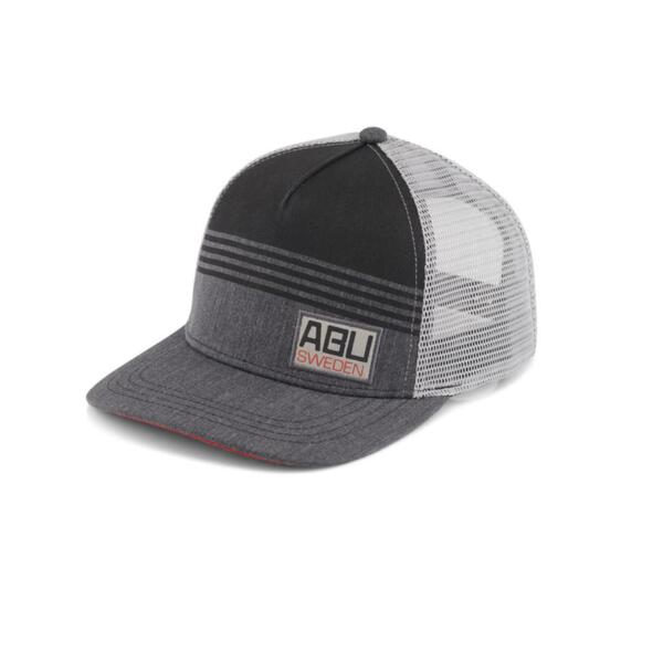 Шапка Abu Garcia 5 PANEL SEMI CURVE PRINTED FRONT ЕMBRODERY PATCH MESH