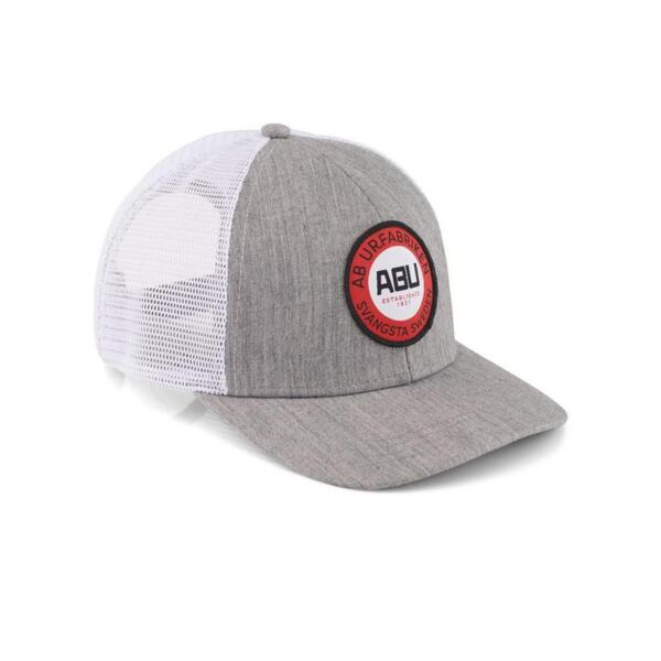 Шапка Abu Garcia 6 PANEL TRUCKER WITH ROUND WOVEN PATCH WHITE MESH