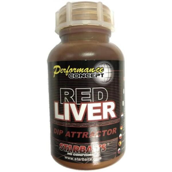 Дип Starbaits RED LIVER DIP ATTRACTOR 200 ml
