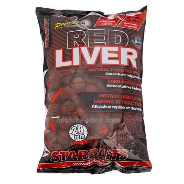 Протеинови топчета Starbaits RED LIVER